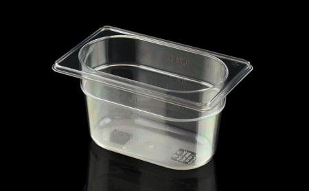 Gastronorme 1/9 108 × 176 mm en Tritan