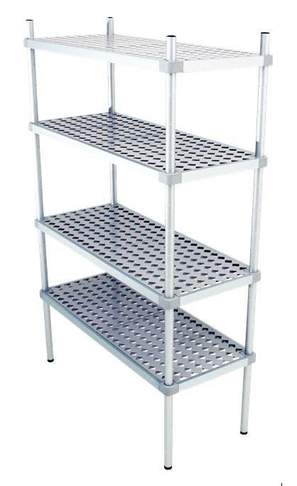 Scaffali alluminio Professionali Compact Base