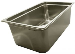 GST1/1P200  Contenitore Gastronorm 1/1 h200 mm in acciaio inox AISI 304
