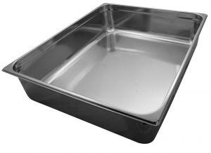 GST2/1P150 contenedores Gastronorm 2 / 1 H150 mm de acero inoxidable AISI 304