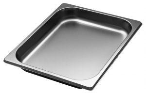 GST1/2P040 Récipient Gastronorm 1 / 2 h40 mm en acier inox AISI 304
