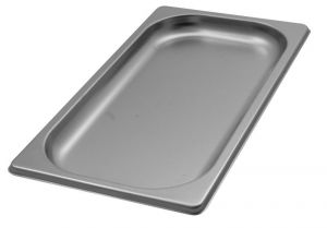 GST1/3P020 contenedores Gastronorm 1 / 3 h20 de acero inoxidable AISI 304
