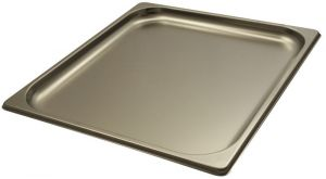 GST2/3P020 contenedores Gastronorm 2 / 3 h20 de acero inoxidable AISI 304