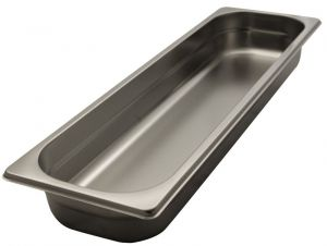GST2/4P020 Gastronorm Container 2 / 4 h20 stainless steel AISI 304