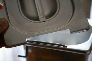 Couverture CPR2/4M 2 / 4 en acier inox AISI 304 avec split poignées