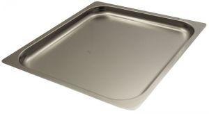 FNC2/3P040 Gastronorm 2 / 3 h40 inoxidable AISI 304 borde de acero plano
