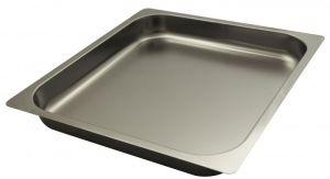 FNC2/3P065 Teglia  Gastronorm 2/3 h65 in acciaio inox AISI 304 bordo piano
