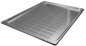 GST2/1P020F Gastronorm Container 2 / 1 h20 perforated stainless steel AISI 304