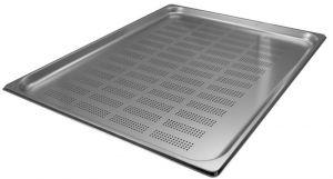 GST2/1P020F Récipient Gastronorm 2 / 1 h20 perforée en acier inox AISI 304