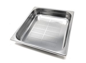 GST2/3P065F Gastronorm Container 2 / 3 h65 perforated stainless steel AISI 304