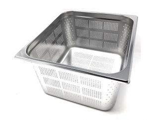 GST2/3P200F Gastronorm Container 2 / 3 h200 perforated stainless steel AISI 304