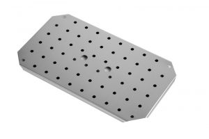 GSTFF12 False bottom for GN 1 / 2 in stainless steel AISI 304