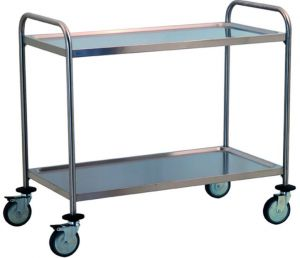 TEC1100 Cart Technical Professional stainless steel removable 2-storey