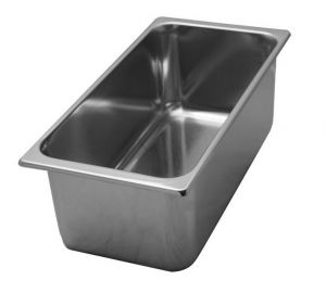 VG331612 stainless steel ice cream container 330x165x h120 mmv