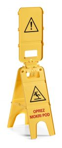 00003808 SIGNAL 3 DOORS - HR - YELLOW - WITH AGGA SYSTEM