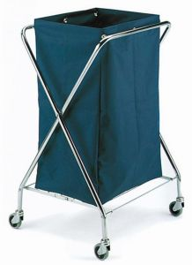 00004050 Trolley for Laundry Dust Medium - 150 Lt