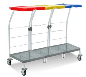 00004164 Laundry trolley Dust 4164 - 3X70 L