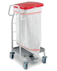 00004171 Laundry Basket Dust 4171 - With Pedal - 70 Lt