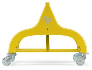 L030080 DOUBLE FRAME FOR NICK 30 TROLLEYS - YELLOW