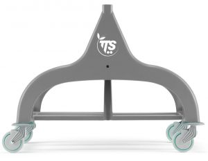 L030081 DOUBLE FRAME FOR NICK 30 TROLLEYS - GRAY