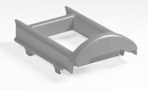 S090201 Bucket-stand for Nick Single - Gray