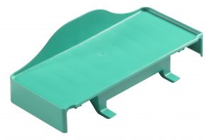 T030360 GREEN REGGI-HERMETIC PLATE - GREEN