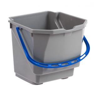 T080155EB BUCKET FOR NICKITA 25 L TROLLEYS - BLUE-GRAY