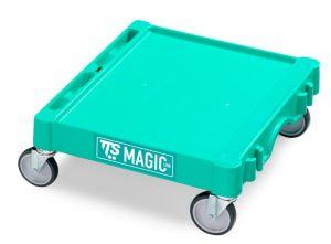 T09060410 MAGIC MINI BASE - GREEN - WHEELS ø 125 MM