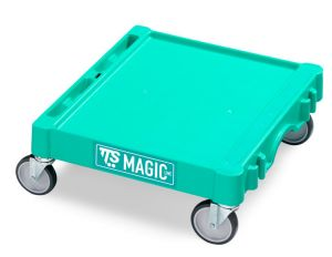 T09060413 Base Magic Mini - Verde - Ruote per Esterni Con Fr