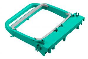 T090720 Portasacco Magic 120 L - Verde - Attacco Maschio