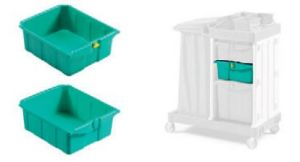 T090781 MAGIC DRAWER 22 L - GREEN - WITHOUT KEY