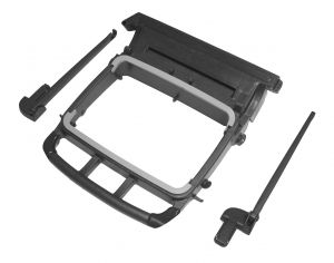 T990685 BAG HOLDER 120 L WITHOUT BUMPERS FOR MAGICART APER