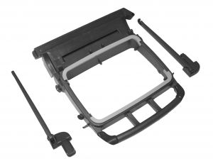 T990695 BAG HOLDER 120 L WITHOUT BUMPERS FOR MAGICART APER