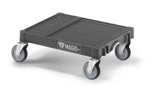 T99080E10 SMALL MAGICART BASE - ANTHRACITE - WHEELS ø 125 MM