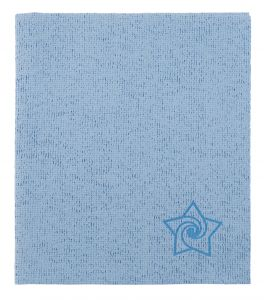 TCH401020 Panno Steel-T - Colore Azzurro - 1 Confezioni da 5 pezzi - 35 cm