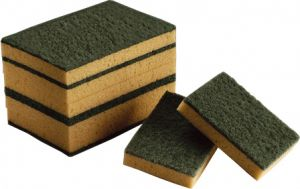 TCH803000 SPONGE WITH ABRASIVE INTENSIVE-T - 1CONF FROM 10PZ