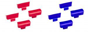 V050126 SET CAPS COLOR CODE FOR TRAY EROY - BLUE-R
