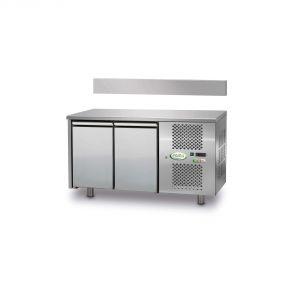 FTR2TN - Mesa ventilada refrigerada 2 puertas - 0 / + 10 ° - SIN ELEVADOR