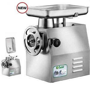 32DEP Stainless steel electric meat mincer - Single phase - Powerless motor