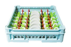 GEN-100155 Cesta speciale per il lavaggio di 28 tazzine e piattini da caffè