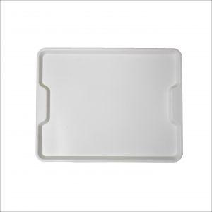 GEN-100703 Polypropylene tray - Ergonomic collection - Canteen - External measures 45,6x35,6 cm
