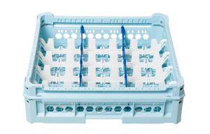 GEN-K13x5 CLASSIC BASKET 15 RECTANGULAR COMPARTMENTS - Glass height 65mm
