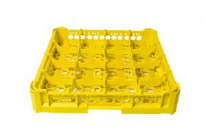 GEN-K14x4 CLASSIC BASKET 16 SQUARE COMPARTMENTS - Glass height 65mm