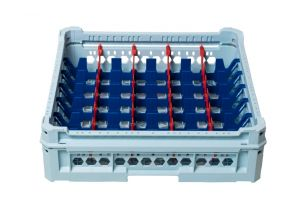 GEN-K15x7 CLASSIC BASKET 35 RECTANGULAR COMPARTMENTS - Glass height 65mm