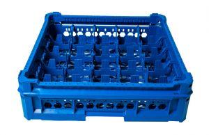 GEN-K25x5 CESTA CLASSICA 25 SCOMPARTI QUADRATI - Altezza bicchiere da 65mm a 120mm