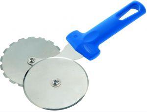 AC-ROP4 Rotella doppia taglia-incidi lame inox temprato, ø 100 mm manico costampato