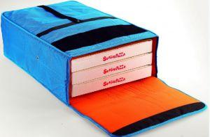 BT406020 Borsa termica per 3 cartoni pizza 40x60 cm