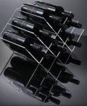 EV02801 GEOMETRIC - Shelf wine display with 12 seats for bottles ø 8.2 cm