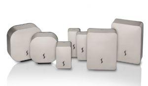T105810 Distributeur de papier essuie-mains en acier inoxydable satiné AISI 304 400 feuilles