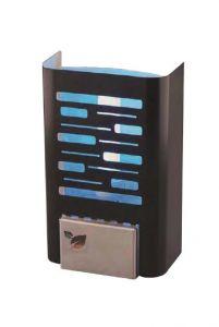 T903121 Mini sterminatore d'insetti con carta moschicida - Acciaio nero
